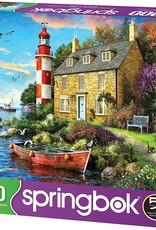 Cottage Lighthouse 1000-pc Puzzle by Springbok