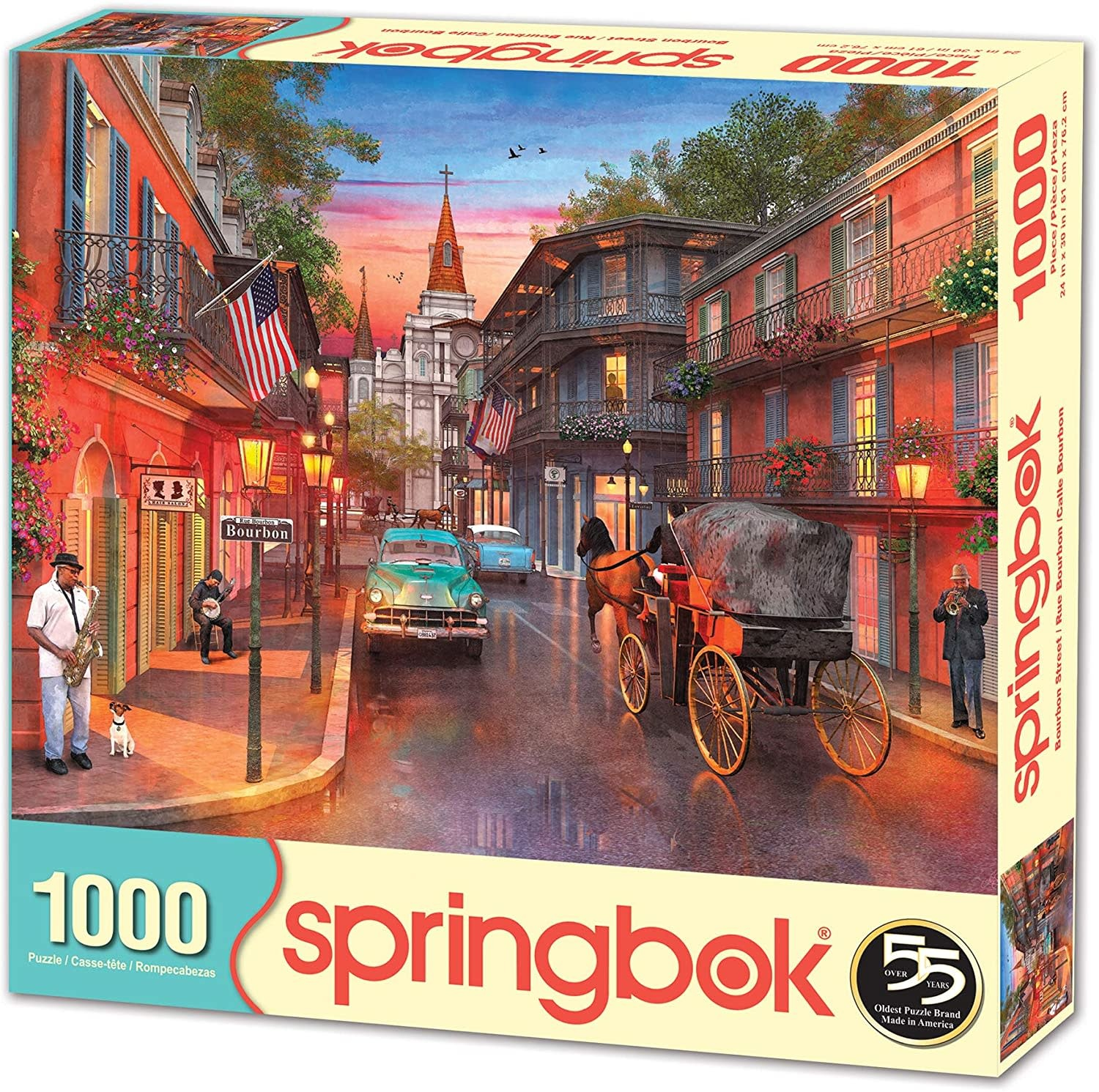 Bourbon Street 1000-pc Puzzle by Springbok