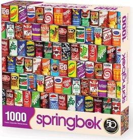 Retro Refreshments 1000-pc Puzzle by Springbok
