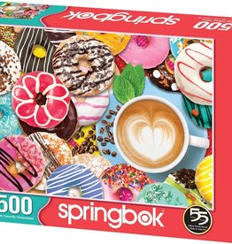 Donuts N' Coffee 500-pc Puzzle by Springbok