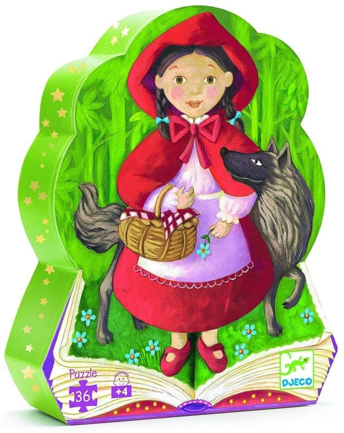 Little Red Riding Hood 36-pc Puzzle by Djeco