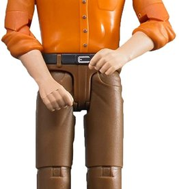 Construction Worker Brown Jeans by Bruder