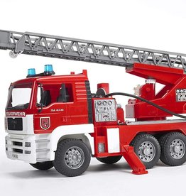 MAN Fire Engine w/ Water Pump, Lights & Sound by Bruder