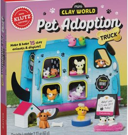 Mini Clay World Pet Adoption Truck by Klutz