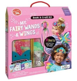 My Fairy Wands & Wings Kit by Klutz