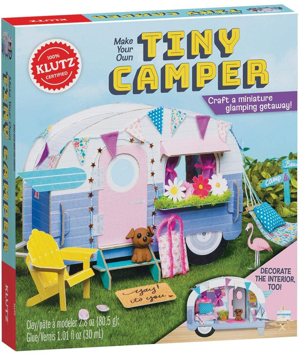 Make Your Own Tiny Camper Kit by Klutz