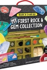 My First Rock & Gem Collection Kit by Klutz Jr
