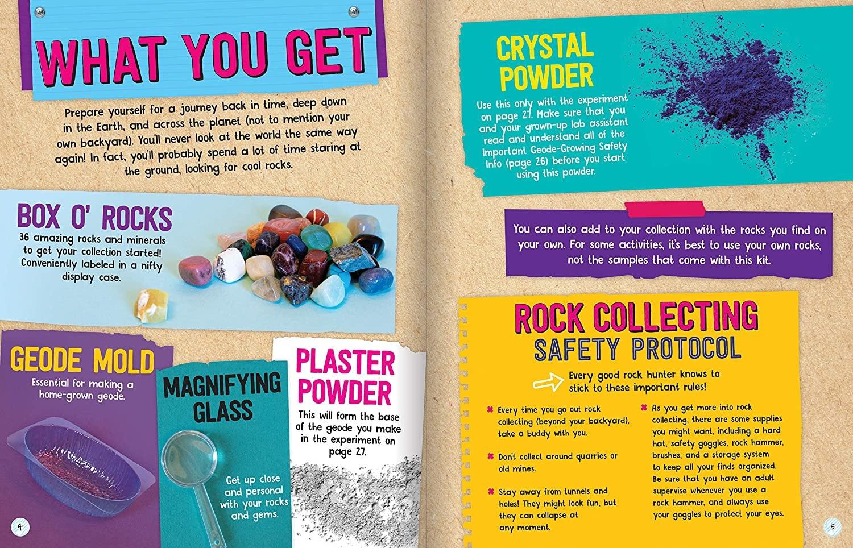 Rocks, Gems & Geodes Maker Lab by Klutz