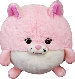 """Squishable Pink Kitty 15"""""""
