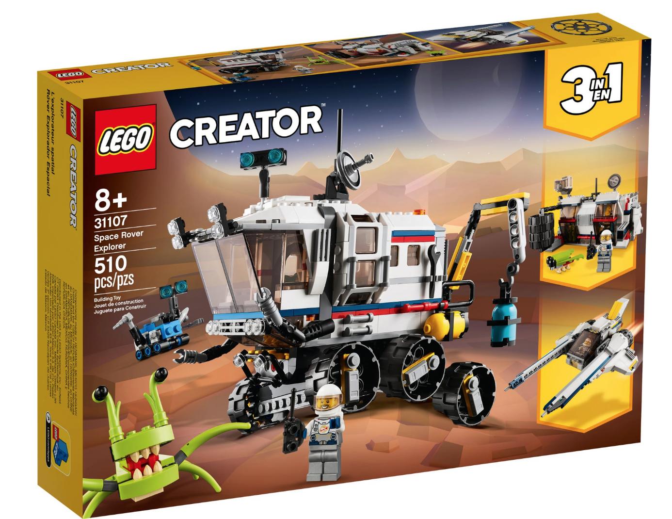 31107 Space Rover Explorer by LEGO Creator