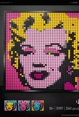31197 Andy Warhol's Marilyn Monroe by LEGO