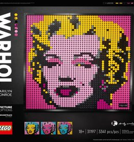 31197 Andy Warhol's Marilyn Monroe by LEGO
