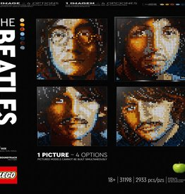 31198 The Beatles by LEGO Art