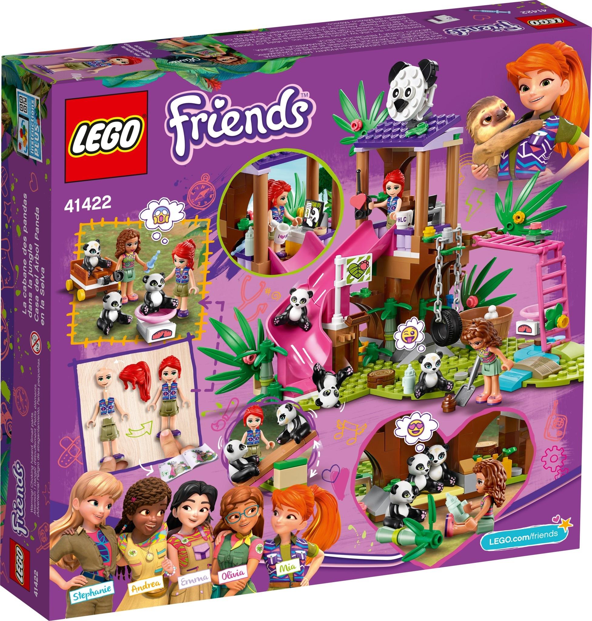 41422 Panda Jungle Tree House by LEGO Friends