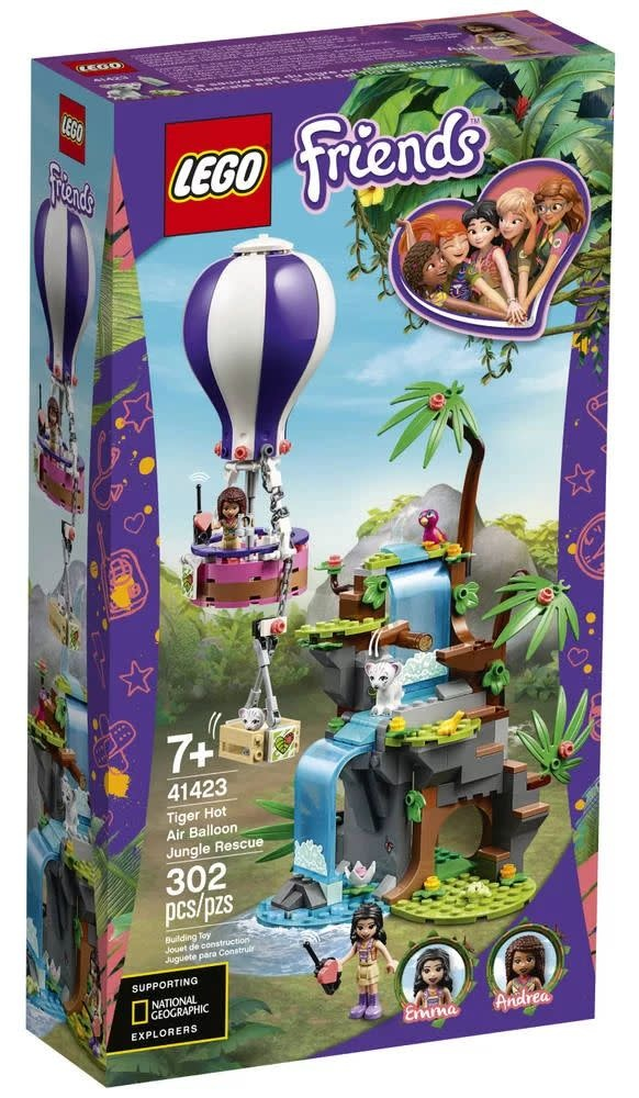 41423 Tiger Hot Air Balloon Jungle Rescue by LEGO  Friends