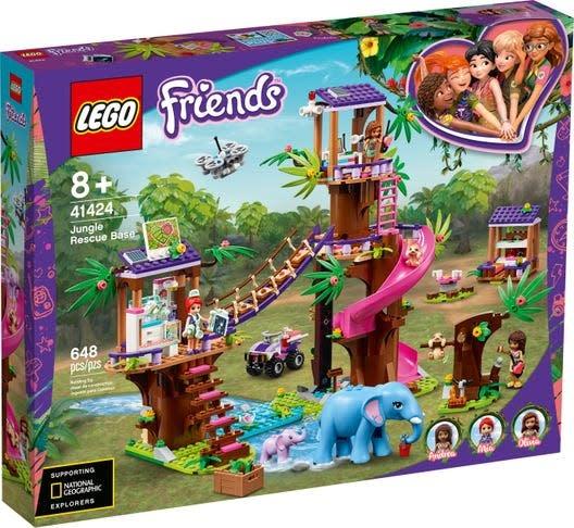 41424 Jungle Rescue Base by LEGO Friends