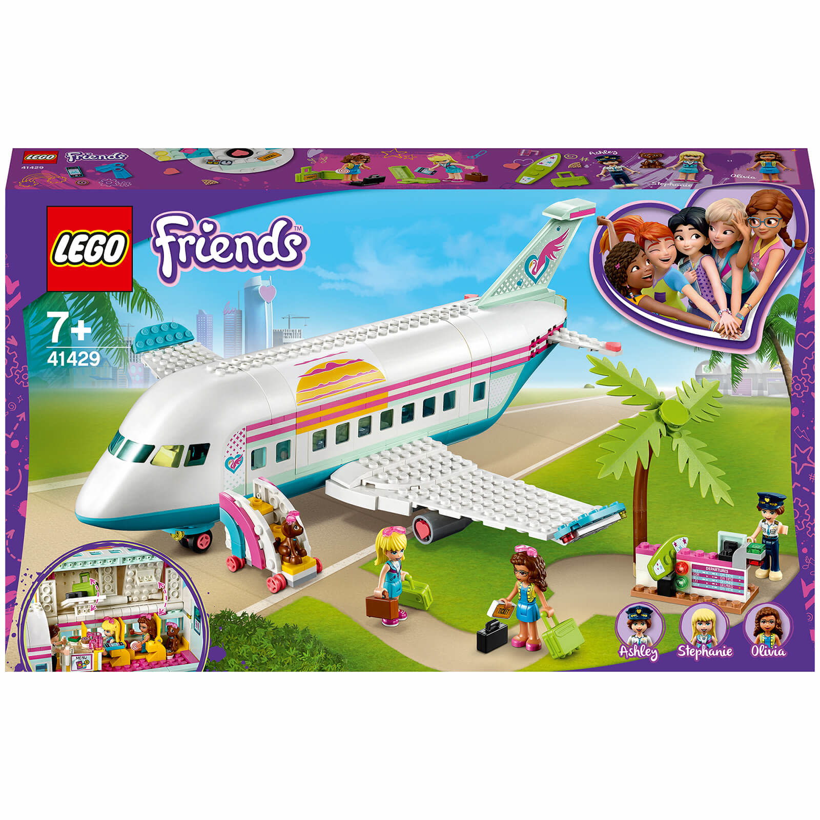 41429 Heartlake City Airplane by LEGO Friends