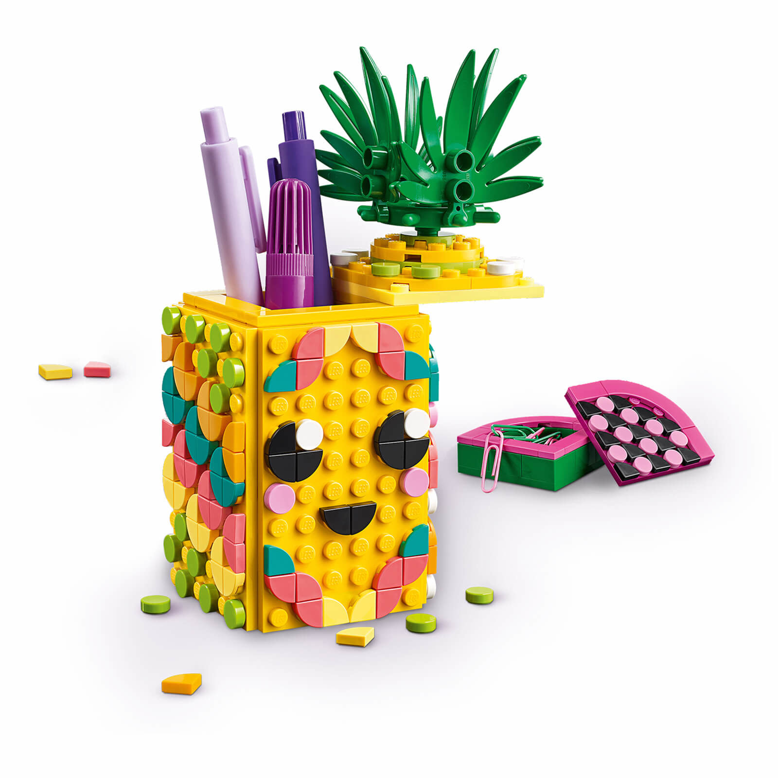 41906 Pineapple Pencil Holder by LEGO DOTS