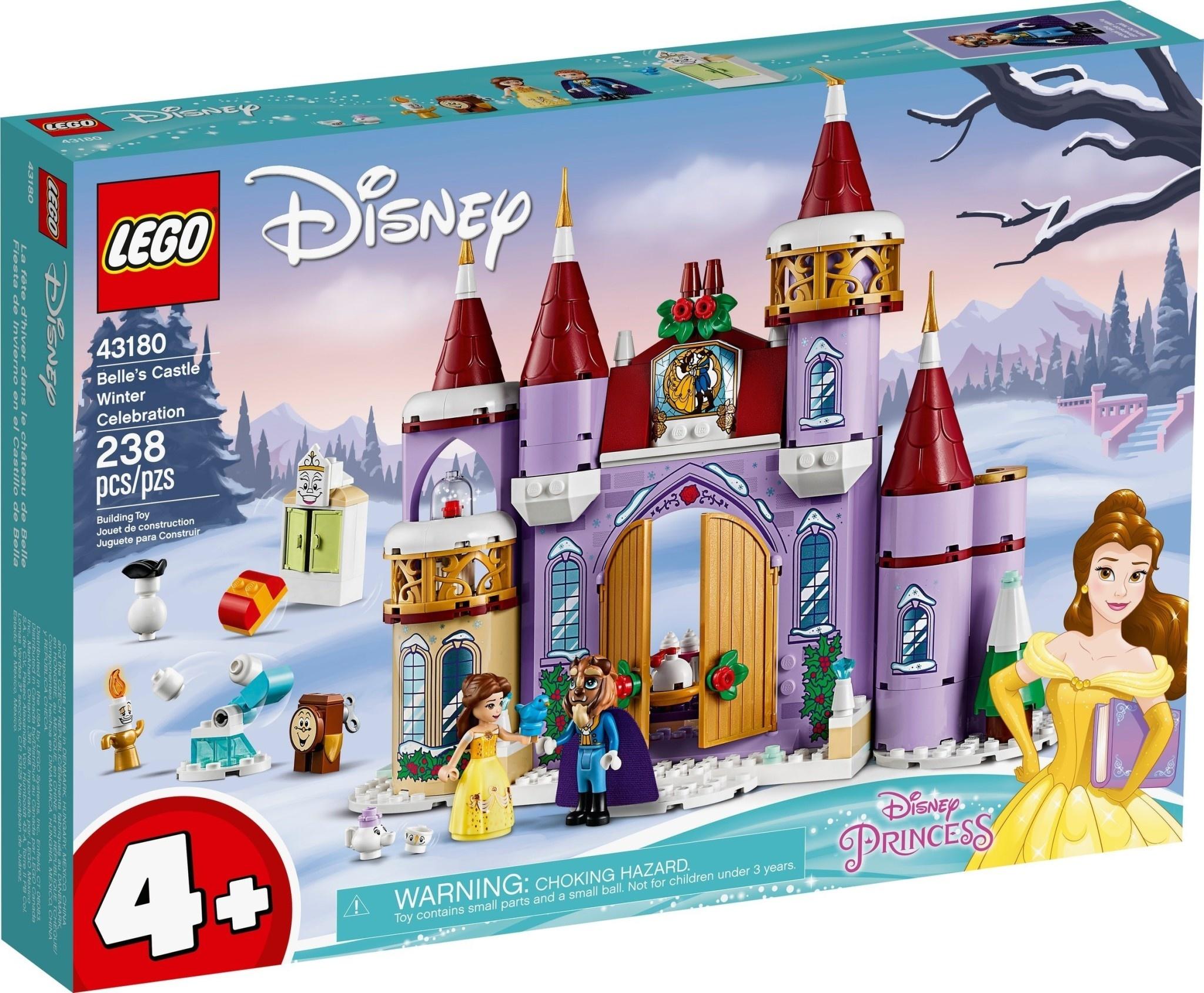 43180 Belle's Castle Winter Celebration by LEGO Disney