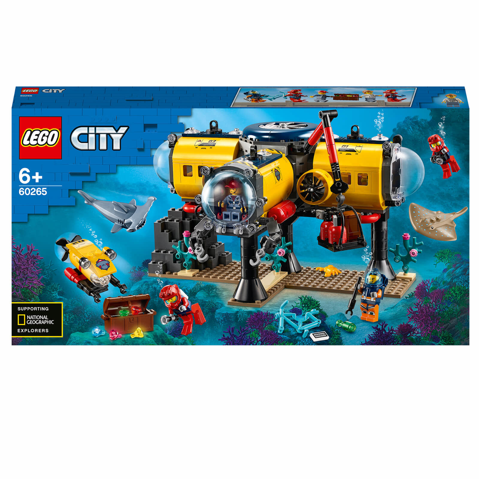 60265 Ocean Exploration Base by LEGO City