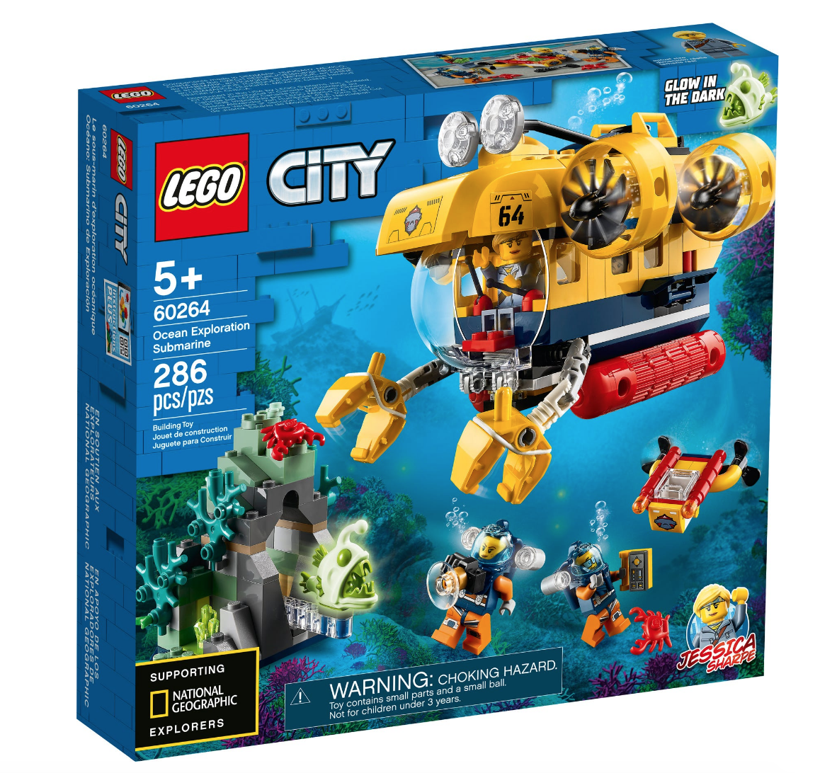 60264 Ocean Exploration Submarine by LEGO City