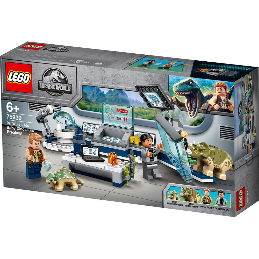 75939 Dr. Wu's Lab: Baby Dinosaurs Breakout by LEGO Jurassic World