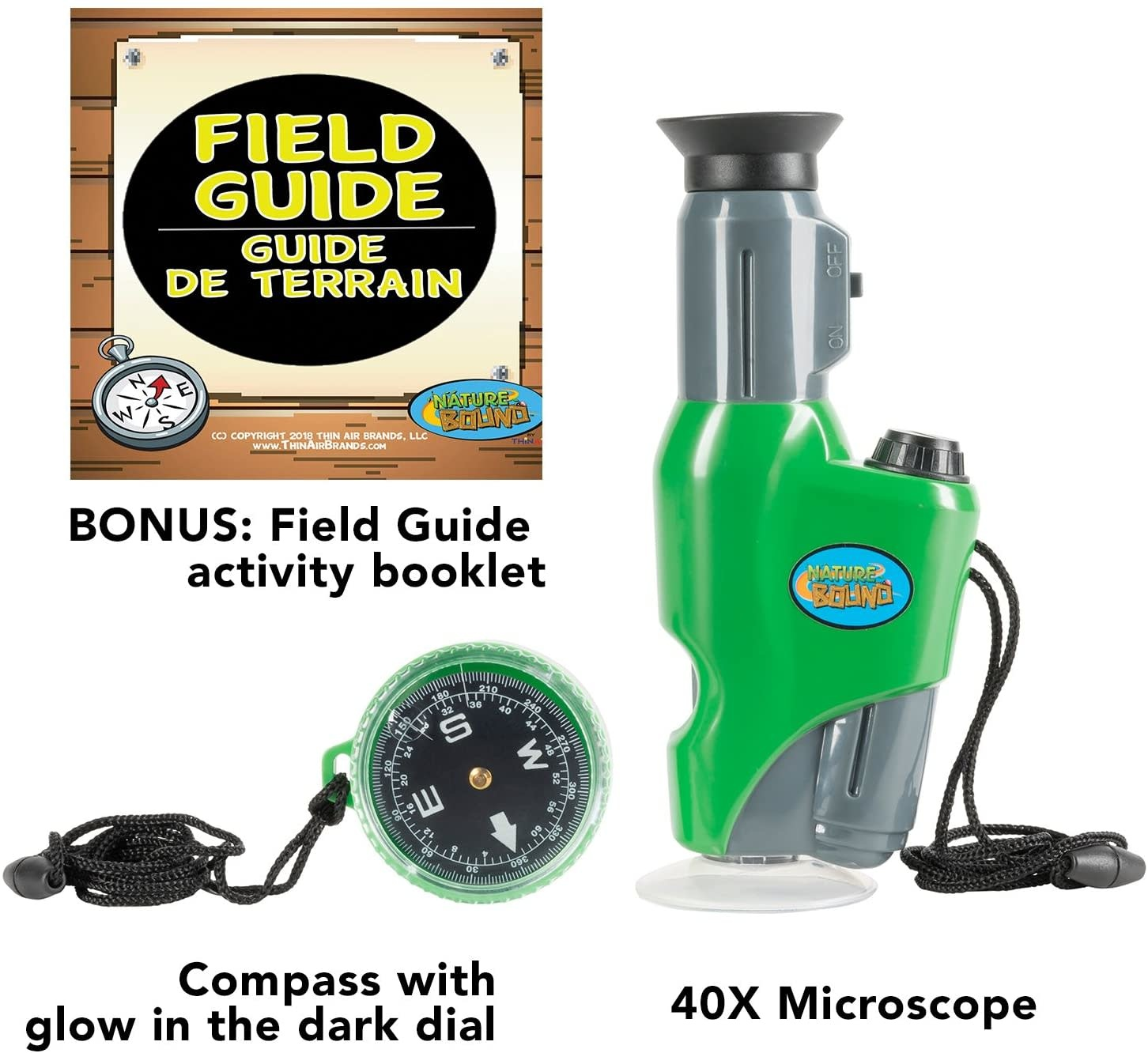Field Scope w/ Compass by Nature Bound