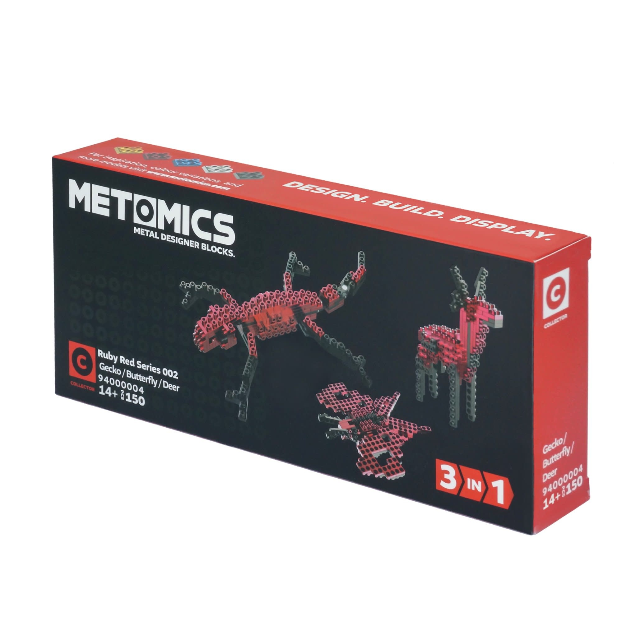 3-in-1 Series 2 Ruby Red by Metomics