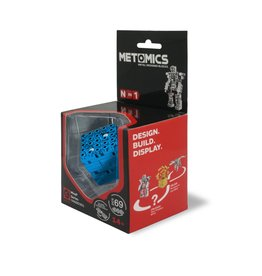 Mind3 Cube Set Azure Blue by Metomics