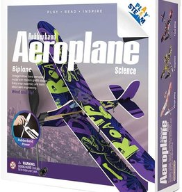 Rubber Band Aeroplane - Biplane by PlaySTEAM