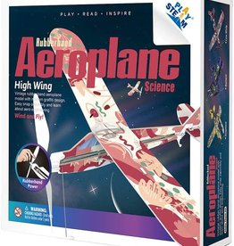 Rubber Band Aeroplane - High Wing by PlaySTEAM
