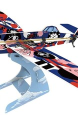 Rubber Band Aeroplane - Low Wing by PlaySTEAM