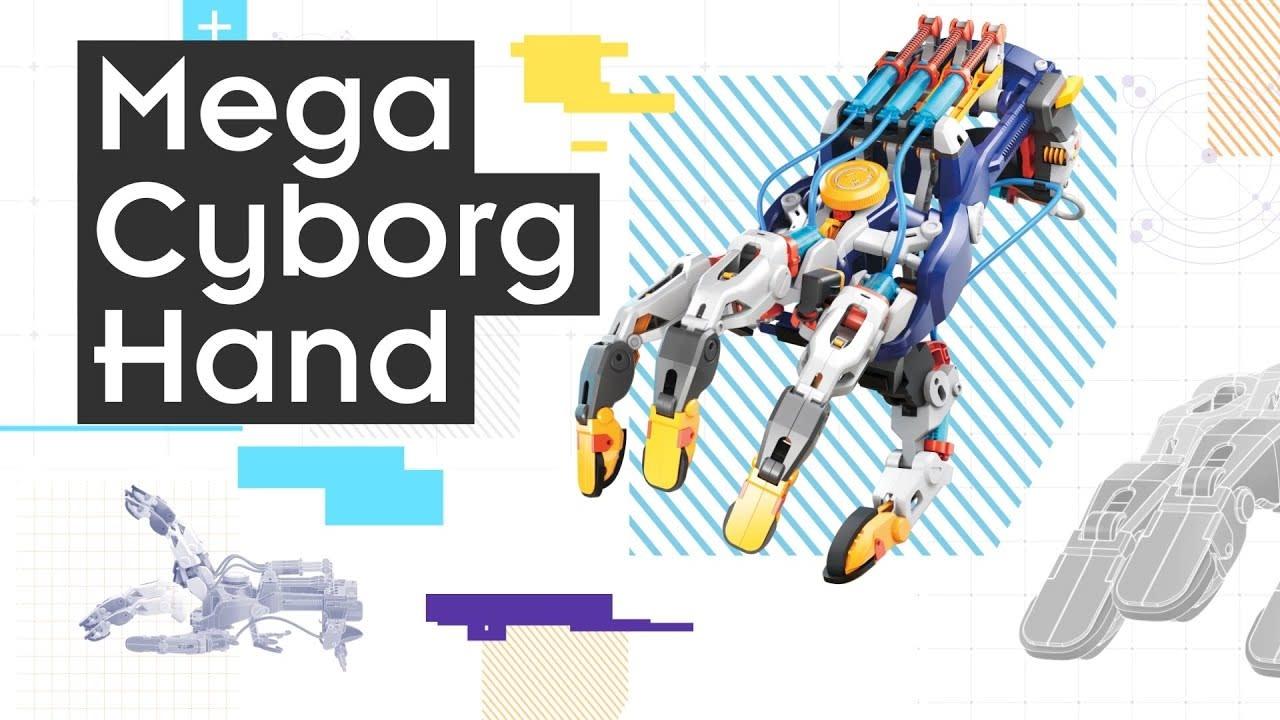Mega Cyborg Hand by Thames & Kosmos