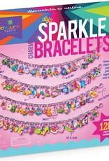 DIY Sparkle Charm Bracelets by Craft-tastic
