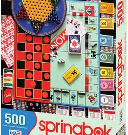 Board Games 500-pc Puzzle by Springbok