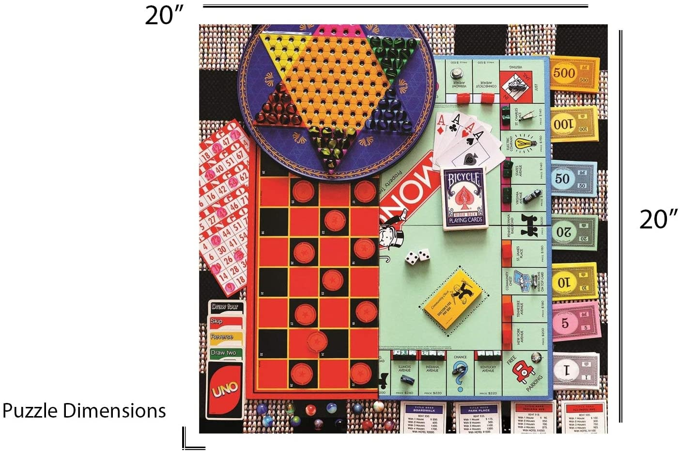 Board Games 500-pc Puzzle by Springbok