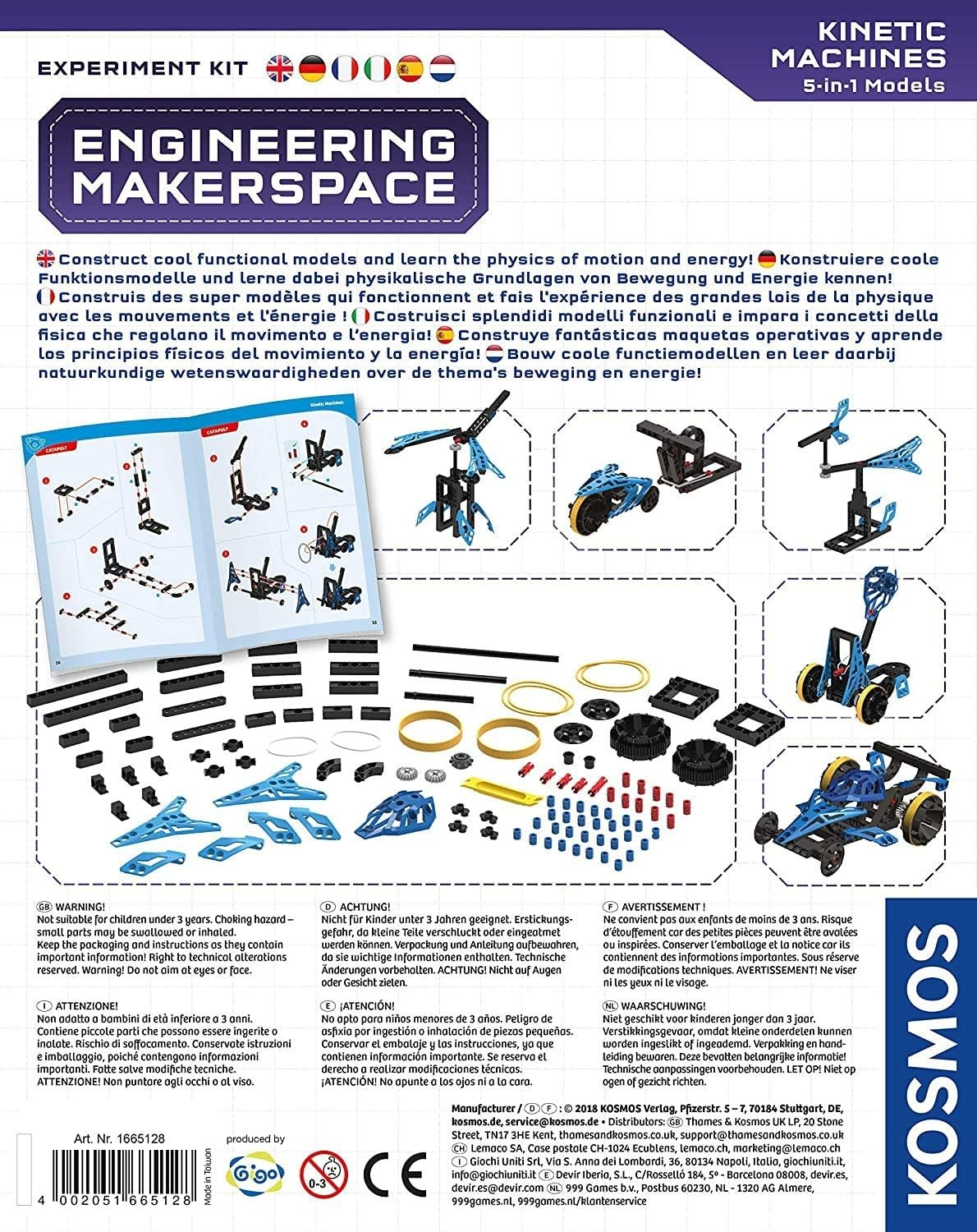 Makerspace Kinetic Machines Kit by Thames & Kosmos