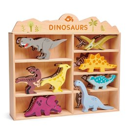Dinosaurs Wooden Display Set by Tender Leaf