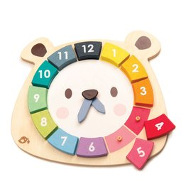 Bear Colors Clock by Tender Leaf