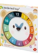 Bear Colors Clock by Tender Leaf