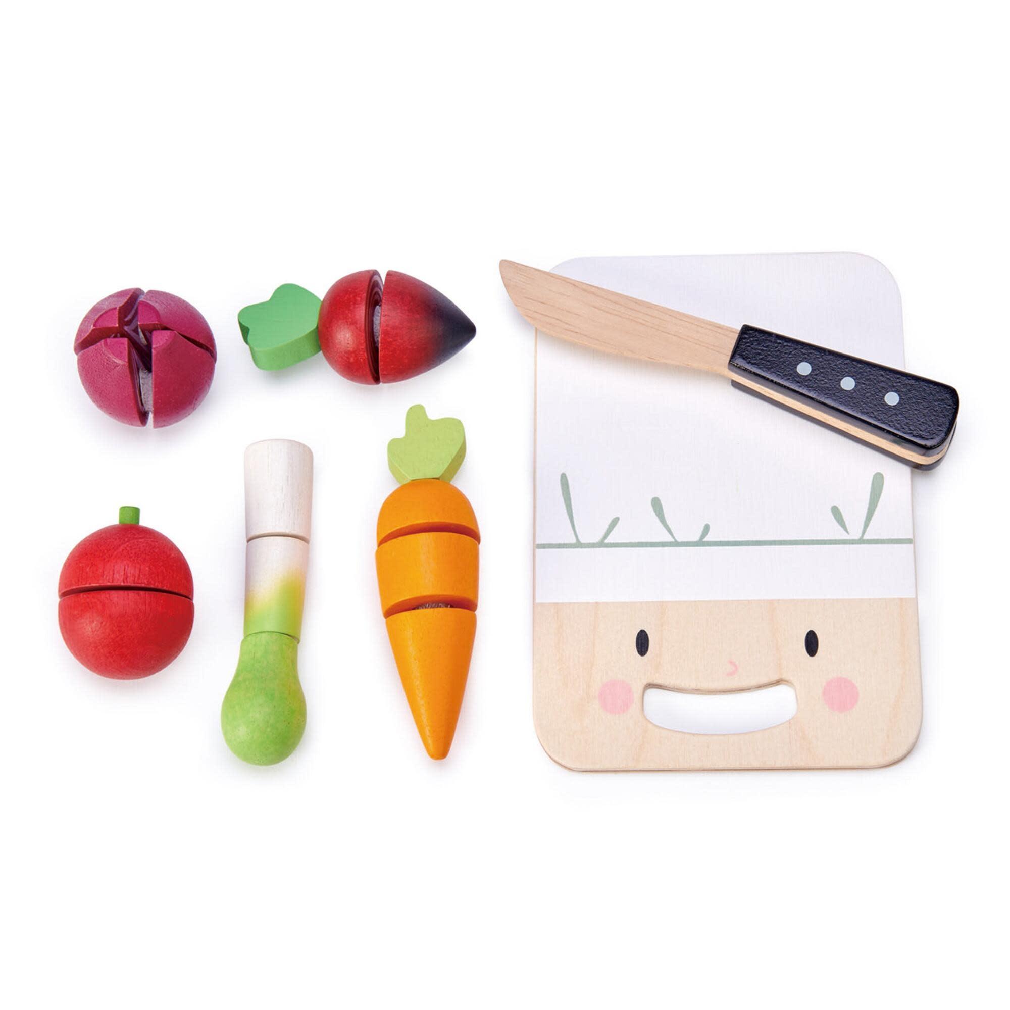 Mini Chef Chopping Board by Tender Leaf