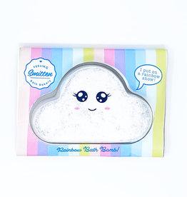 Feeling Smitten Rainbow Cloud Bath Bomb by Feeling Smitten