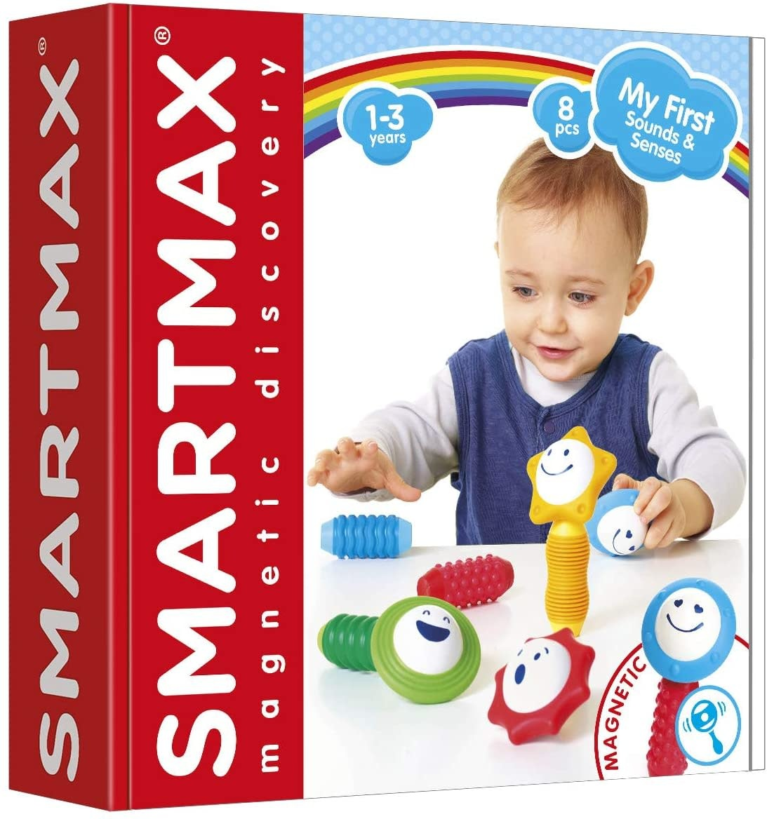 SmartMax My First Sounds & Senses Magnetic Building Kit