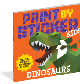 Paint by Sticker Dinosaurs Workbook