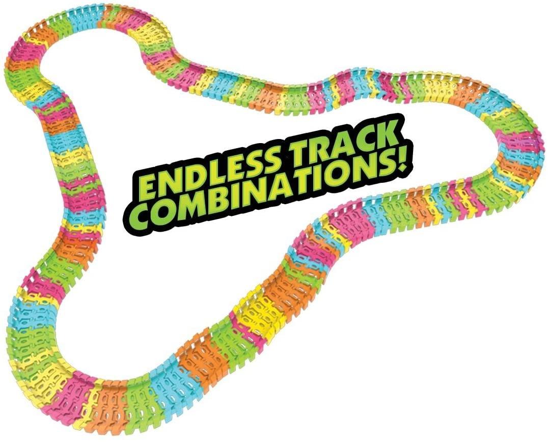 Twister Tracks Neon Glow Race Series 221 by Mindscope