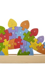 Dinosaur A to Z Wooden Puzzle by BeginAgain