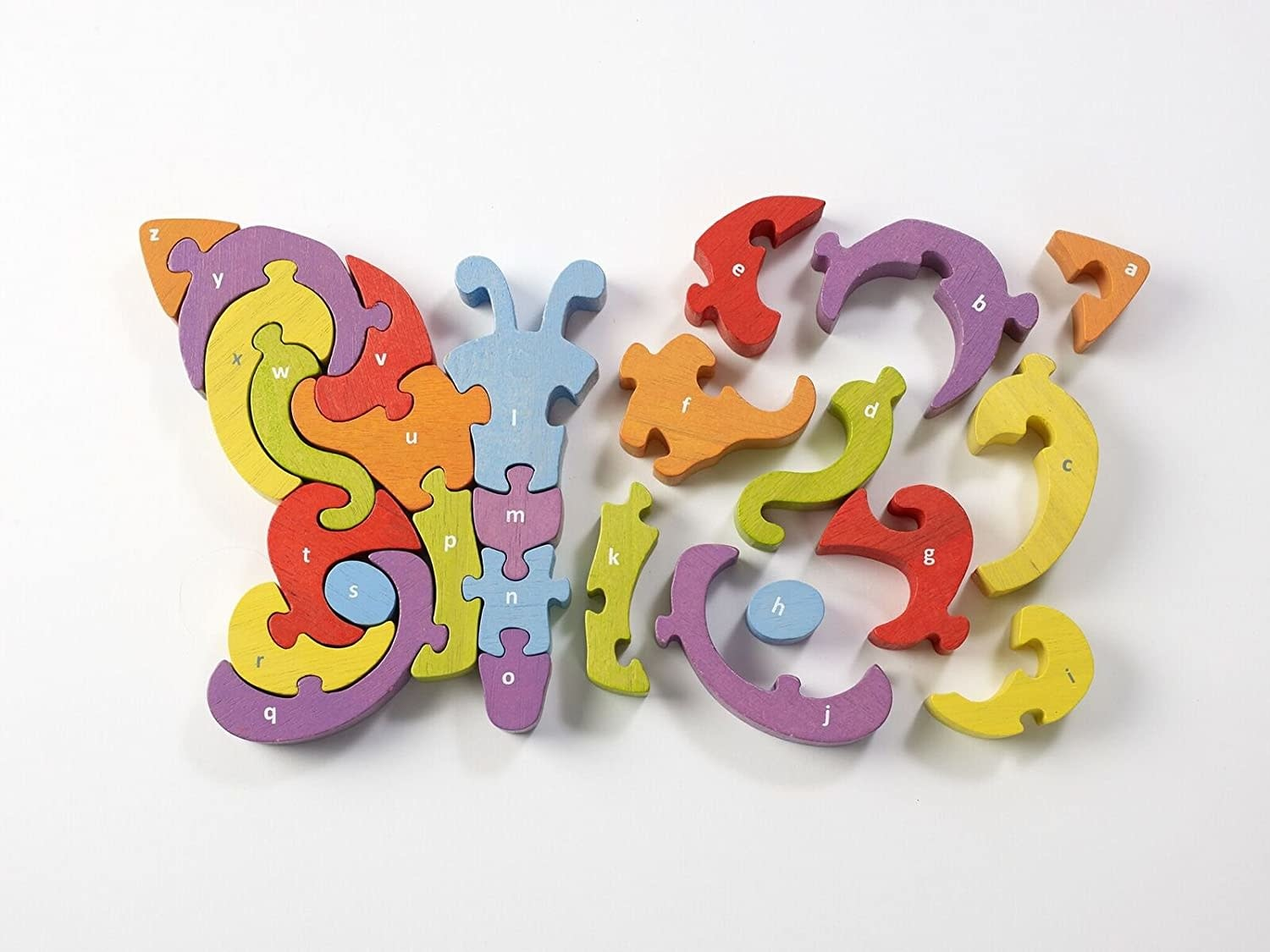 Butterfly A to Z Wooden Puzzle by BeginAgain