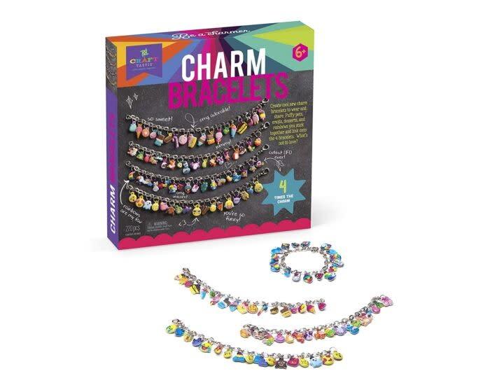 DIY Puffy Charm Bracelets by Craft-tastic