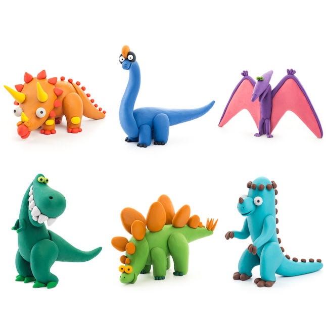 Hey Clay - Dinos by Fat Brain Toys