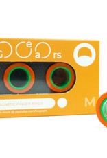 Fingears Orange/Green Medium